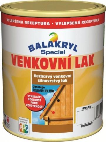 Bezbarvý lak na dřevo vnitřní