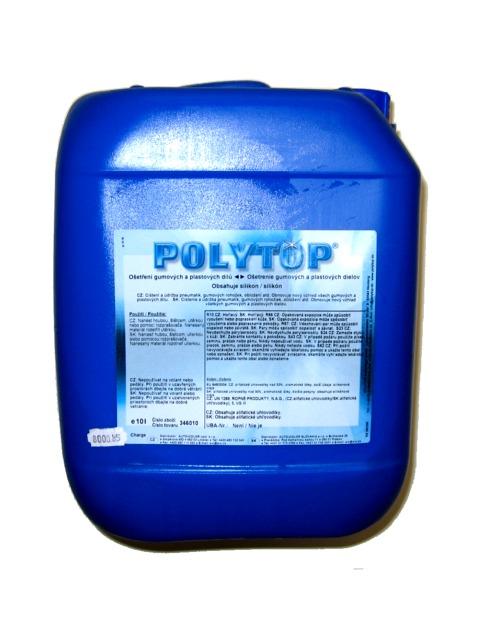 Ošetření gumových a plastových dílů POLYTOP