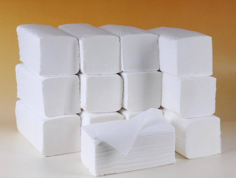 Kup teď Papírové ručníky ZZ bílé, 5000ks