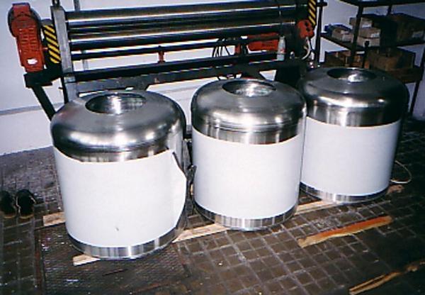 Kup teď Nádrže kulaté pro pivovarnický průmysl