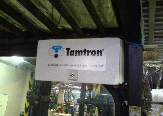 Kup teď Tamtron DLS - váha pro vysokozdvižný vozík
