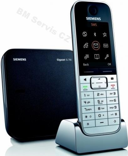 Kup teď Telefon bezšňůrový Siemens Gigaset SL 780 luxusní DECT