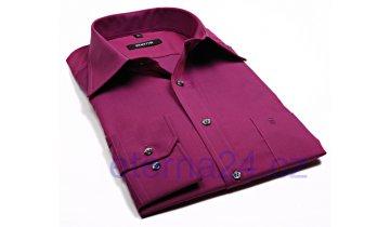 Kup teď Košile Eterna Blackline Chambray - fialovo-červená