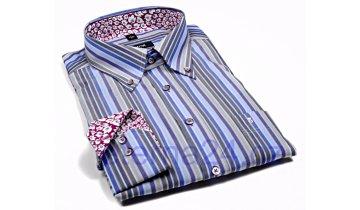 Kup teď Košile Eterna Blackline - barevné proužky
