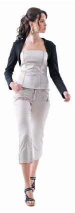 Kup teď Bolerko, korzet a kalhoty