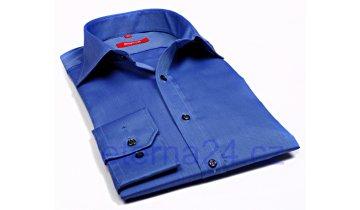 Kup teď Košile Eterna Redline Natte - středně modrá s jemnou strukturou