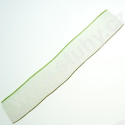 Kup teď Stuha organzová ORISO25 - zelenohnědošedá (25mm, metráž)