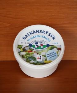 Kup teď Balkánský sýr ve slaném nálevu 250g