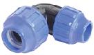 Šroubové plastové spojky ke spojování pe i pp tlakových vodovodních trubek