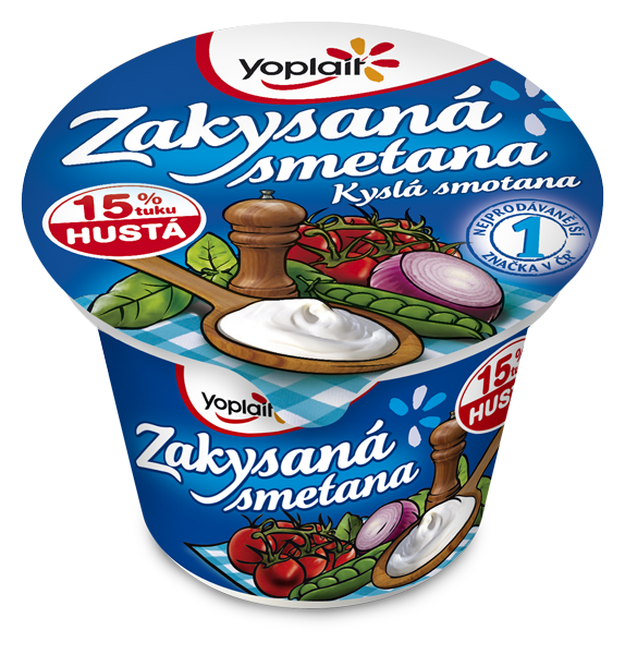 Kup teď Yoplait zakysaná smetana jogurty