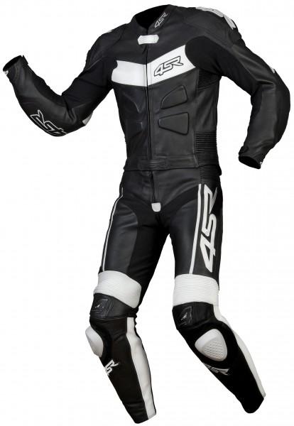 Kup teď Moto kombinéza: RR edition Black - White /kůže