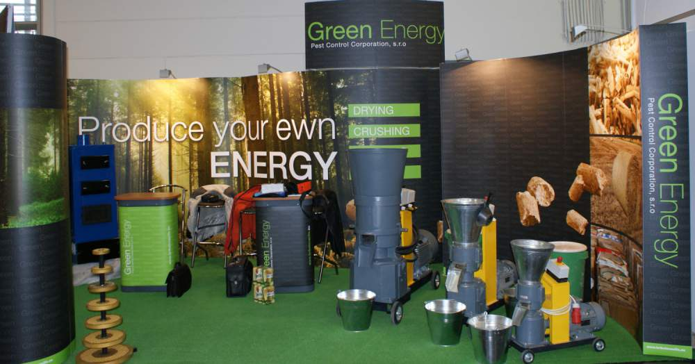 Green Energy Machine Poroduct.
