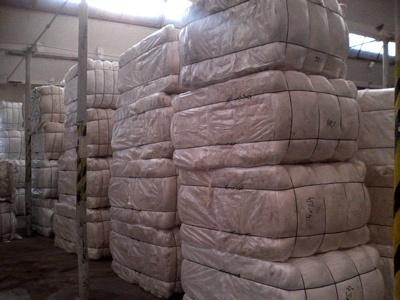 Koupím 100% Cotton clippings white