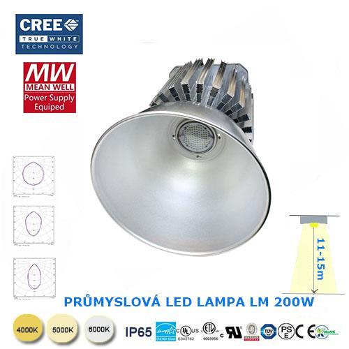 Kup teď Průmyslová LED lampa CREE DC200W