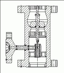 Zpětné ventily do svislého potrubí typu KM 9903.1