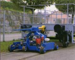 Posunovač kolejových vozidel