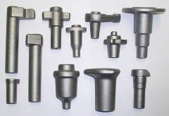 Možné je kovat i výkovky naležato např. ojnice,