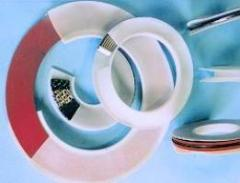 Seals for hydraulics and pneumatics made of