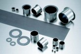 Rolling mill shaft journal bearing inserts