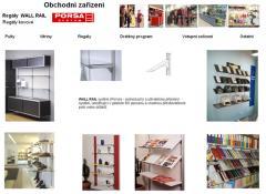 Výrobky zboží pro obchod