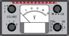 Indikátor kolejových proudů