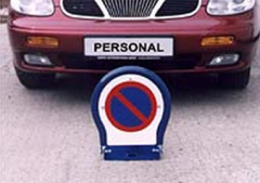 Parkovací zábrana, personal
