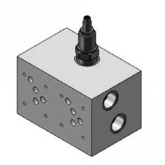 Řadové připojovací bloky s pojišťovacím ventilem