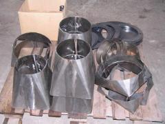 Vyrobky z oceli dily