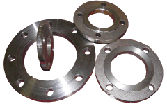 Flanges movable