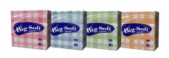 Papírové ubrousky Big Soft DEKOR 50