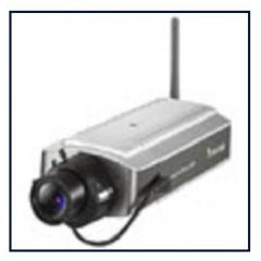 Bezdrátová D/N IP kamera Vivotek IP7152