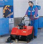Produkty - mycí a zametací stroje, extraktory