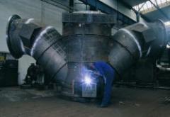 Výroba potrubních dílů