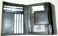 Velká kožená dámská peněženka