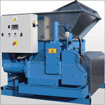 Press hydraulic for metal waste products