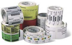 Samolepicí etikety pro termotransferové tiskárny -