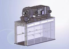 Udírny s centrálním ventilátorem (Typ UKM 210xx)