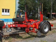 Road-building machines with mechanization of minor