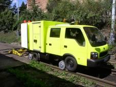 Dvoucestné vozidlo KIA K2500 DUO - MD