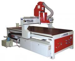 CNC frézka MPW 2500 D