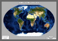 Satelitní mapy světa
