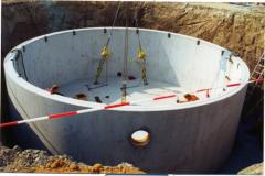 Velkoobjemové nádrže kruhové skladané