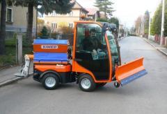 Sypače vozovek SVS pro chodníkové nosiče