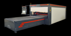 Equipment for laser cutting of metal