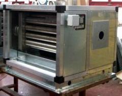 Ohřívače vzduchu a vzduchotechnické jednotky