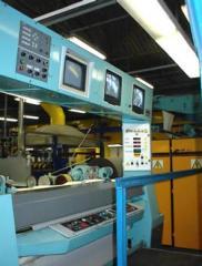 Eloma- elektrovybavení napínacího rámu