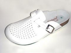 Zdravotní obuv MOOSBACHER HOLDER BÍLÁ