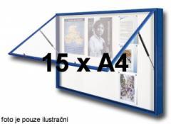 """Vitrína Vitincom """"1000"""" - 15 x A4, sklo,"""