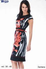 Letní šaty Santana