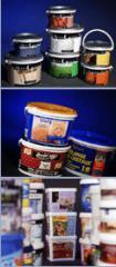 Polypropylenové obaly, kbelíky, dózy, kelímky,